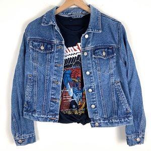 Vintage Limited Blue Denim Jean Jacket size Small